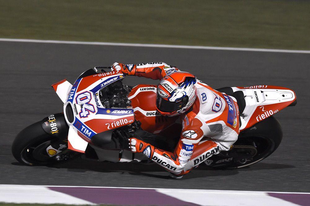 Andrea Dovizioso y Ducati, segundos en el GP de Qatar