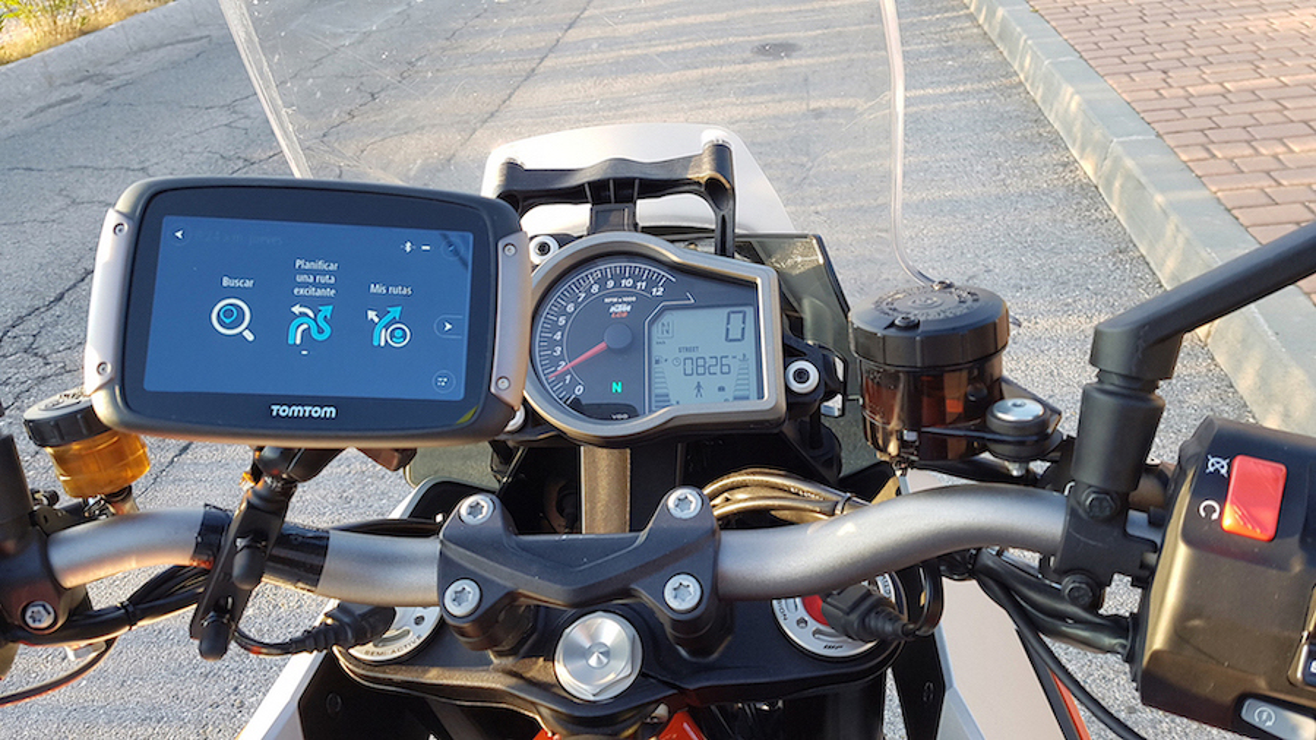 navegador moto
