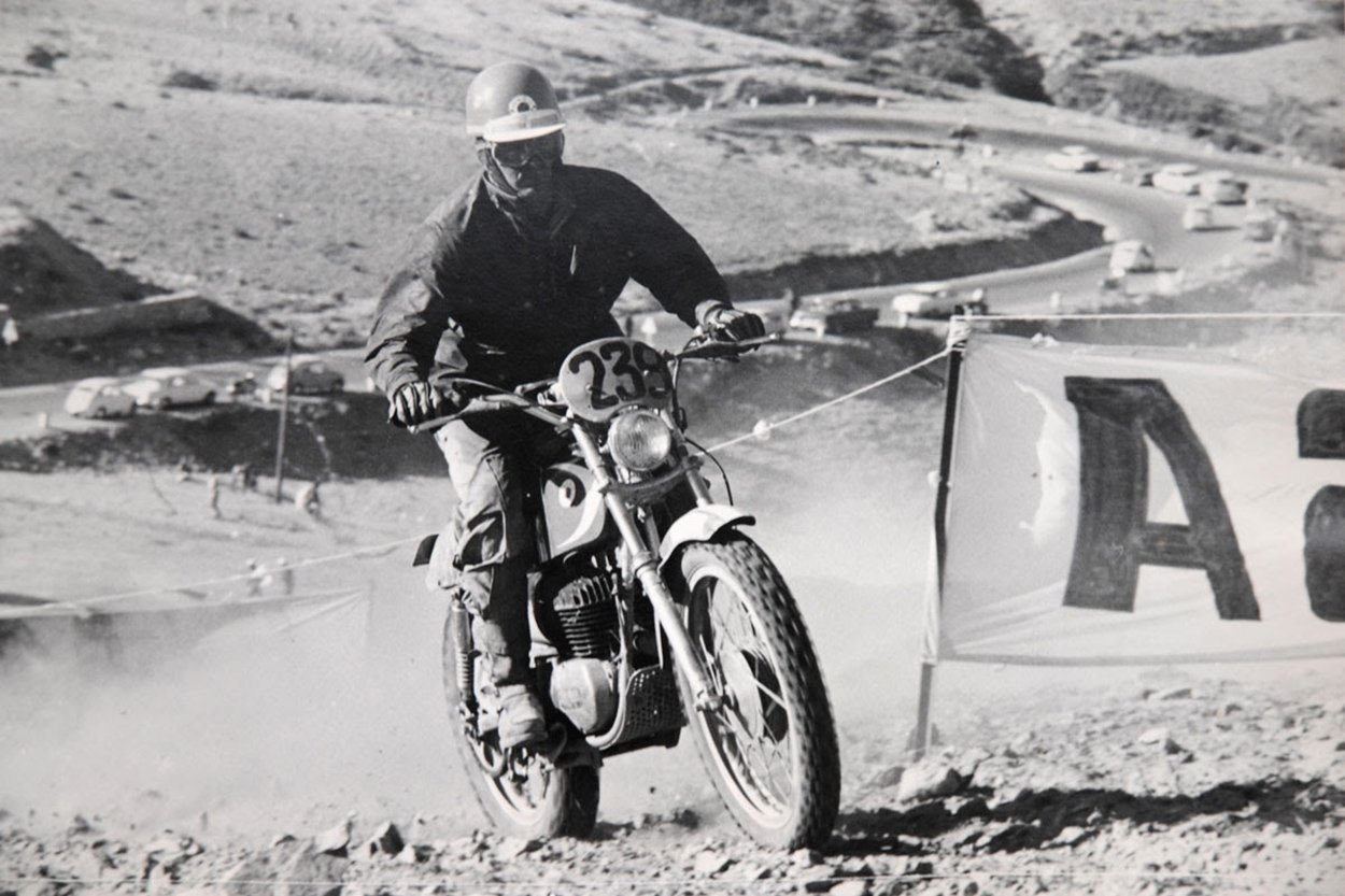 Evolución de las motos de Enduro
