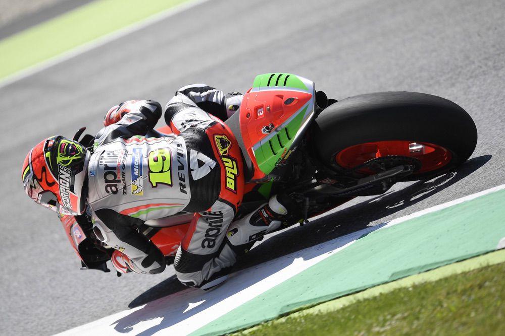 Alvaro Bautista, Aprilia MotoGP