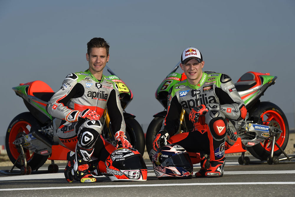 Presentacion Aprilia MotoGP