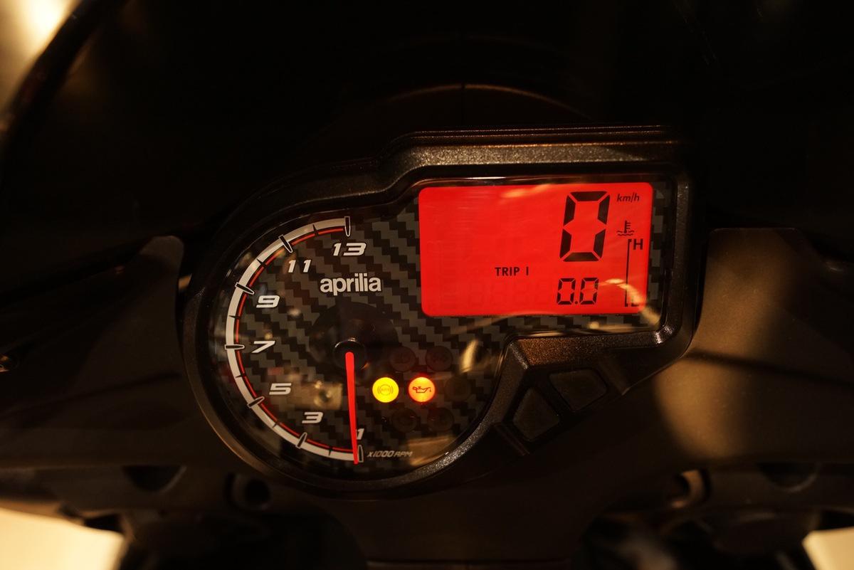 Aprilia RS 125 instrumentación