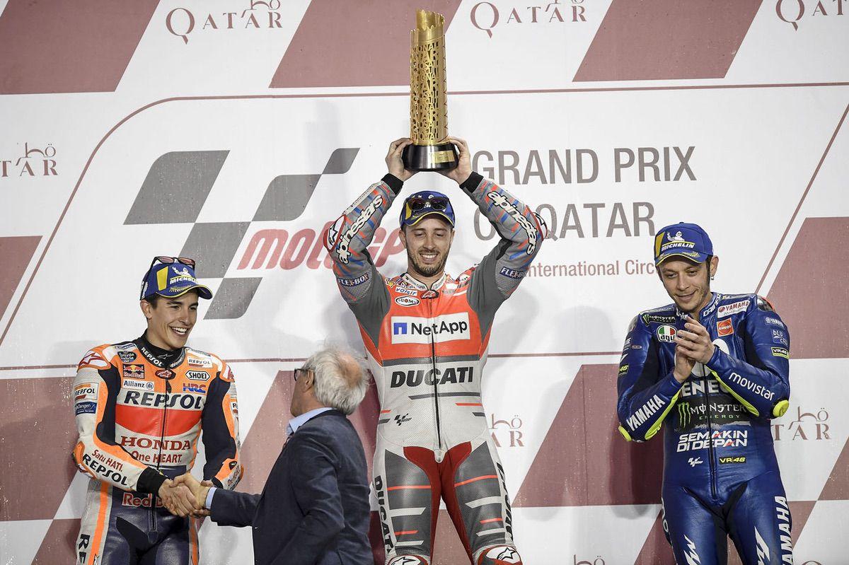 Caída de las audiencias de televisión del Gran Premio de Qatar