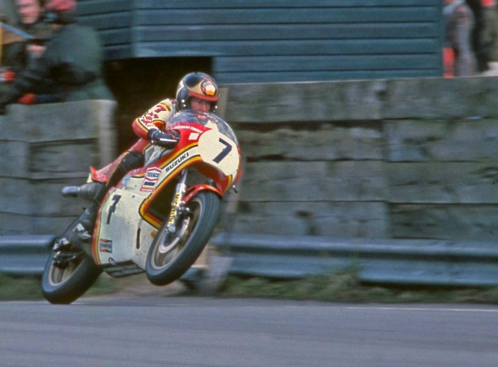 Barry Sheene, campeón del mundo en 1976 y 1977