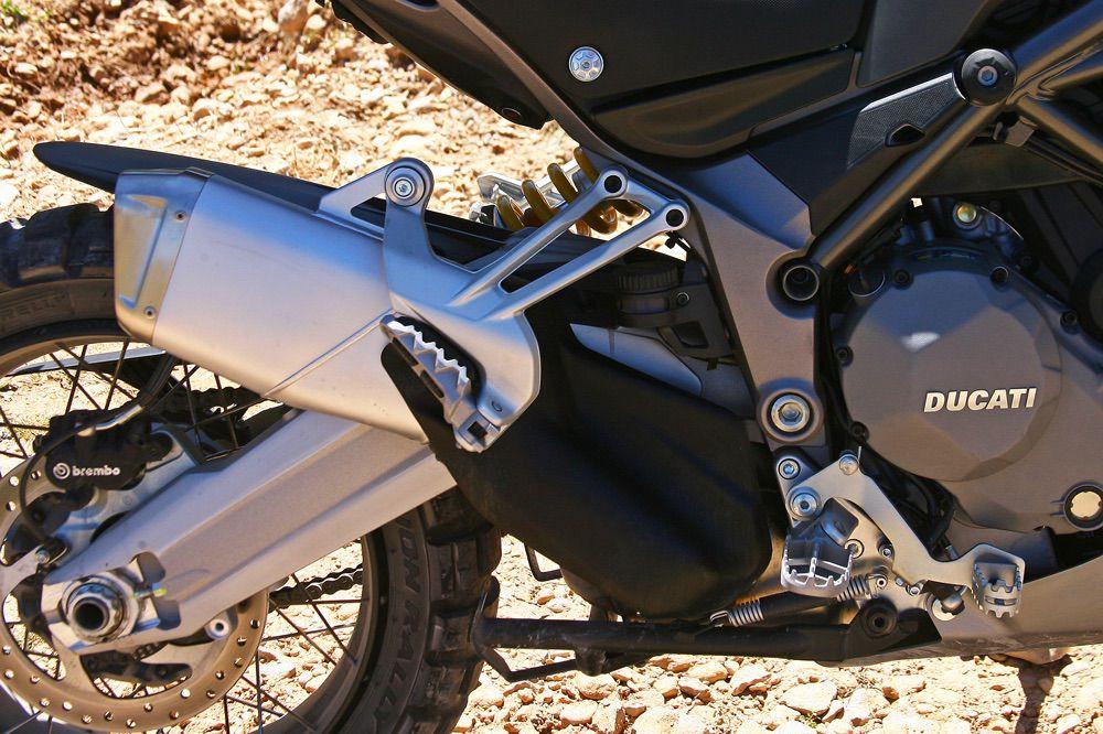 Basculante de la Ducati Multistrada Enduro