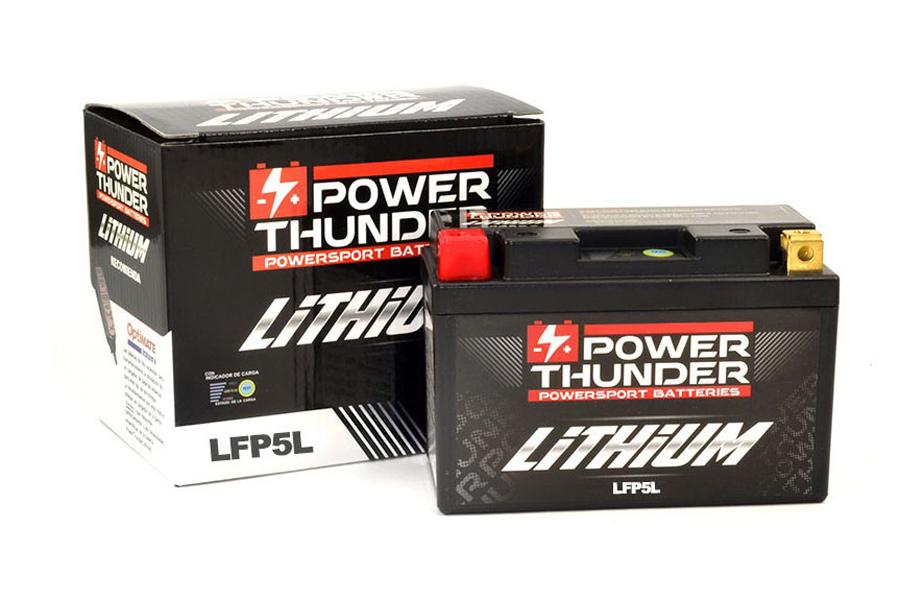 Bateria de Litio de Moto Power Thunder