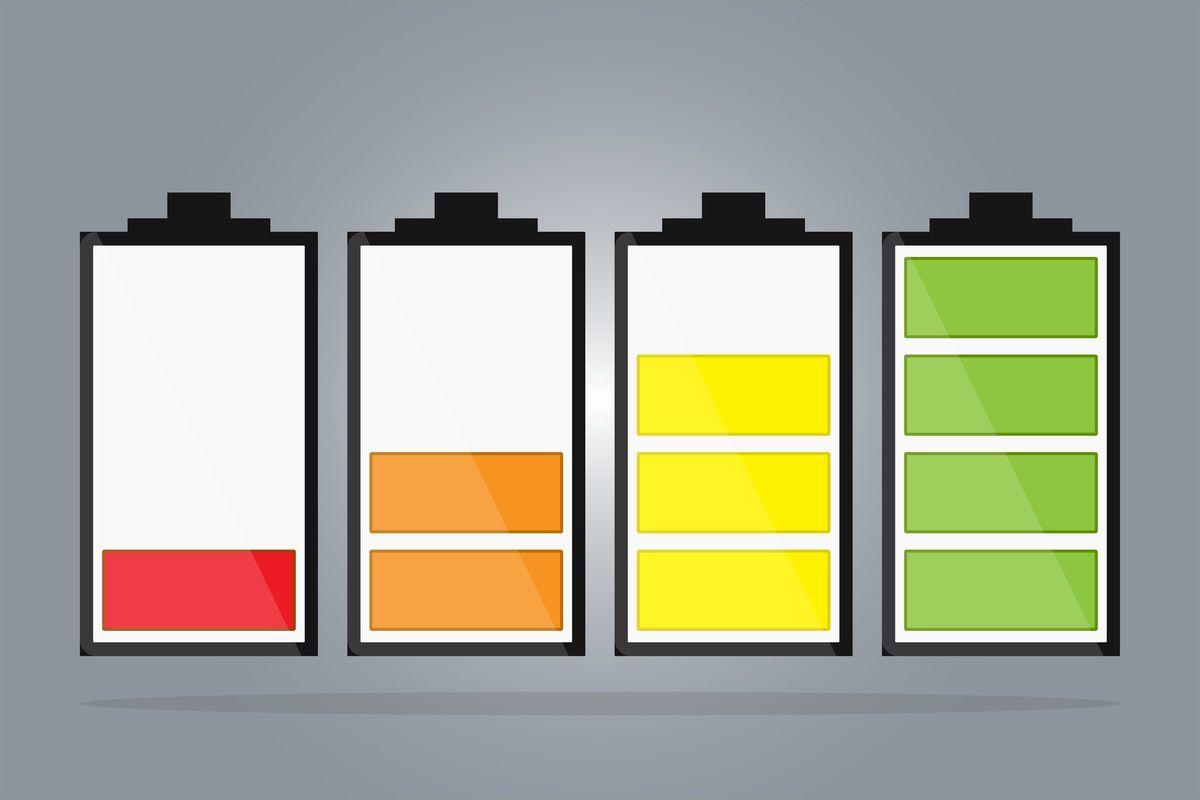 Baterias cargándose