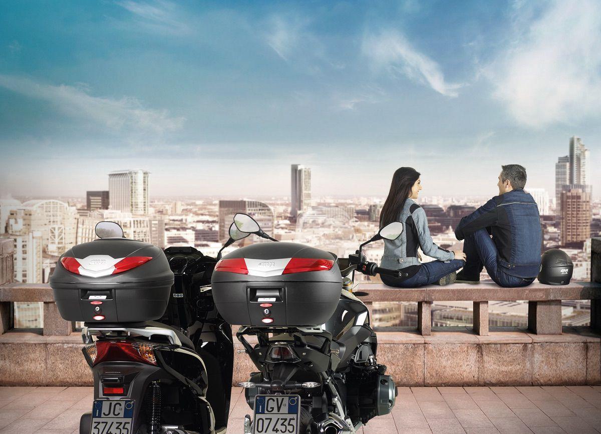 Baules moto y scooter Givi