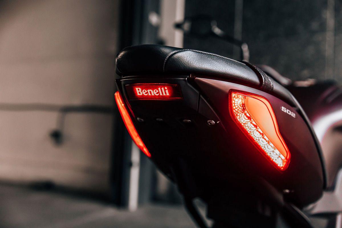 Benelli 502 C