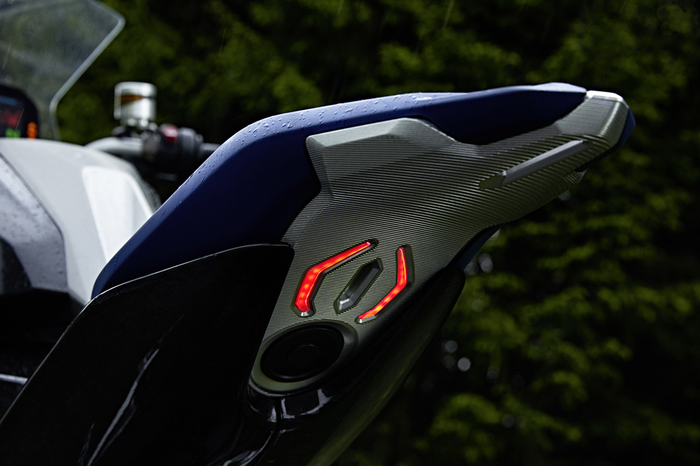 BMW 9Cento, detalle del piloto trasero
