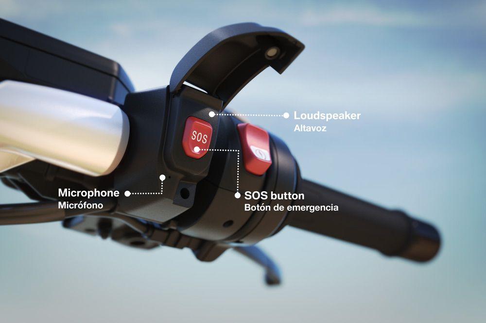 BMW ECall, sistema de llamada de emergencia para motos