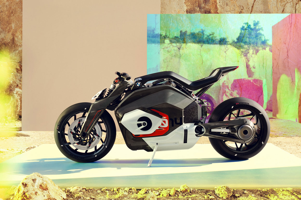 BMW Motorrad Vision DC Moto Electrica