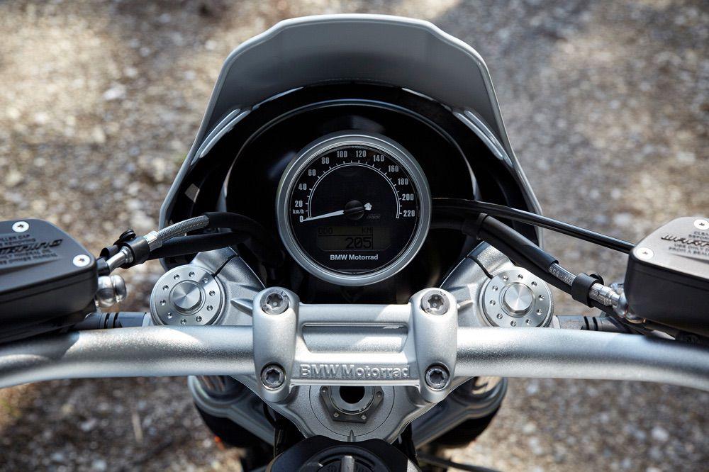 Cuadro de instrumentos de la BMW NineT Urban GS