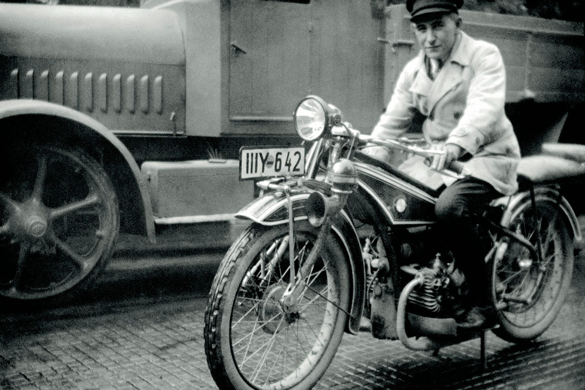 BMW R32 de 1923