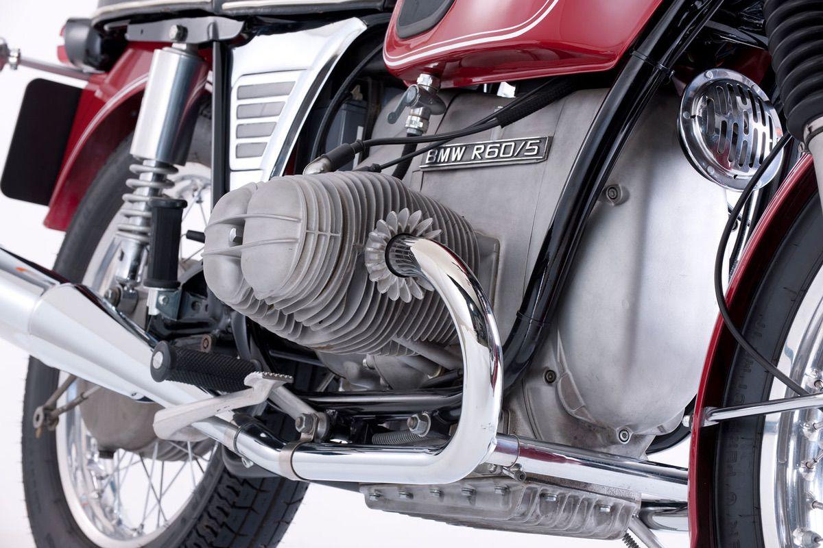 Motor Boxer de la BMW R60 /5