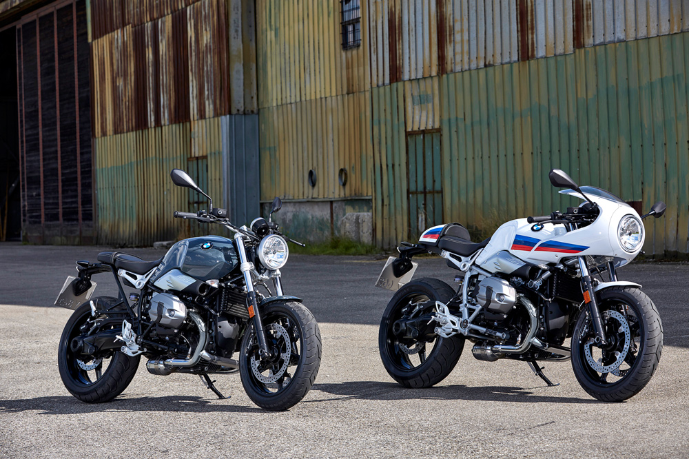 BMW R NineT Pure y Racer 2017