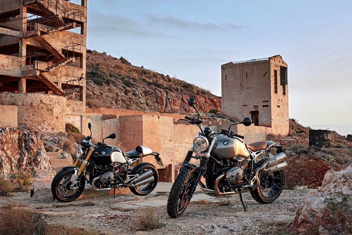 BMW R nineT y BMW R nineT Scrambler