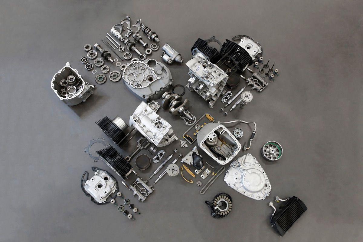Motor Boxer de la BMW R18 Custom