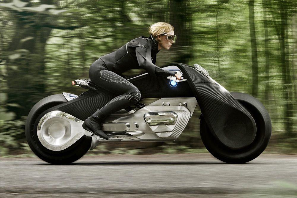 BMW Vision Next 100 Moto del Futuro