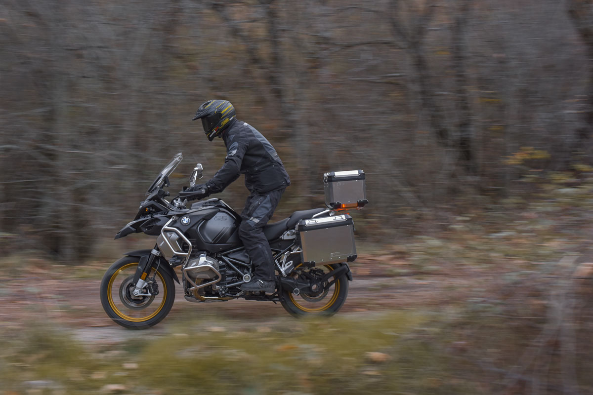 Prueba off-road BMW R 1250 GS Adventure 2021