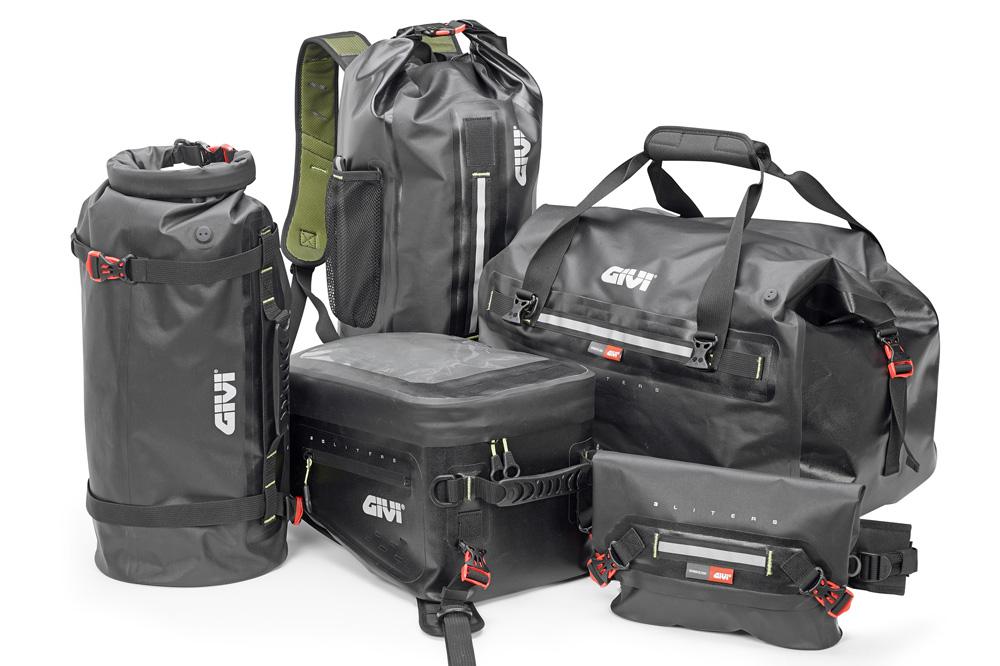 Conjunto de bolsas para moto GIVI Gravel T