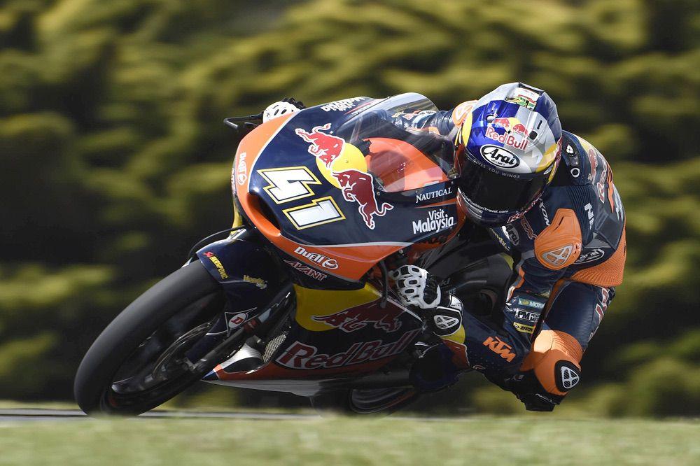Nueva victoria de Brad Binder en el GP de Australia de Moto3