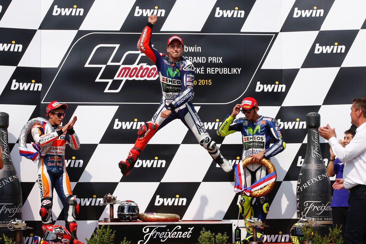 MotoGP Brno 2015: Las mejores fotos