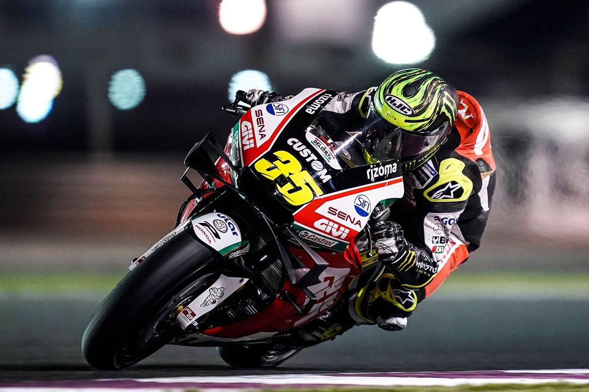 Cal Crutchlow fue tercero en el GP de Qatar, en la categoría MotoGP