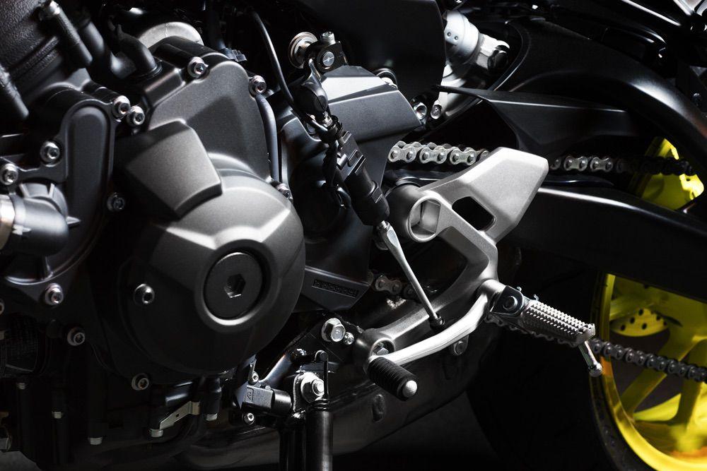 Cambio semiautomático Yamaha MT09 2017