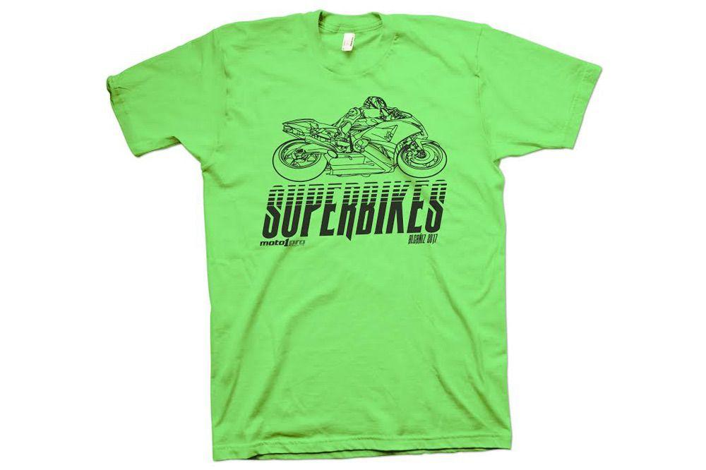 camiseta entradas SBK motorland