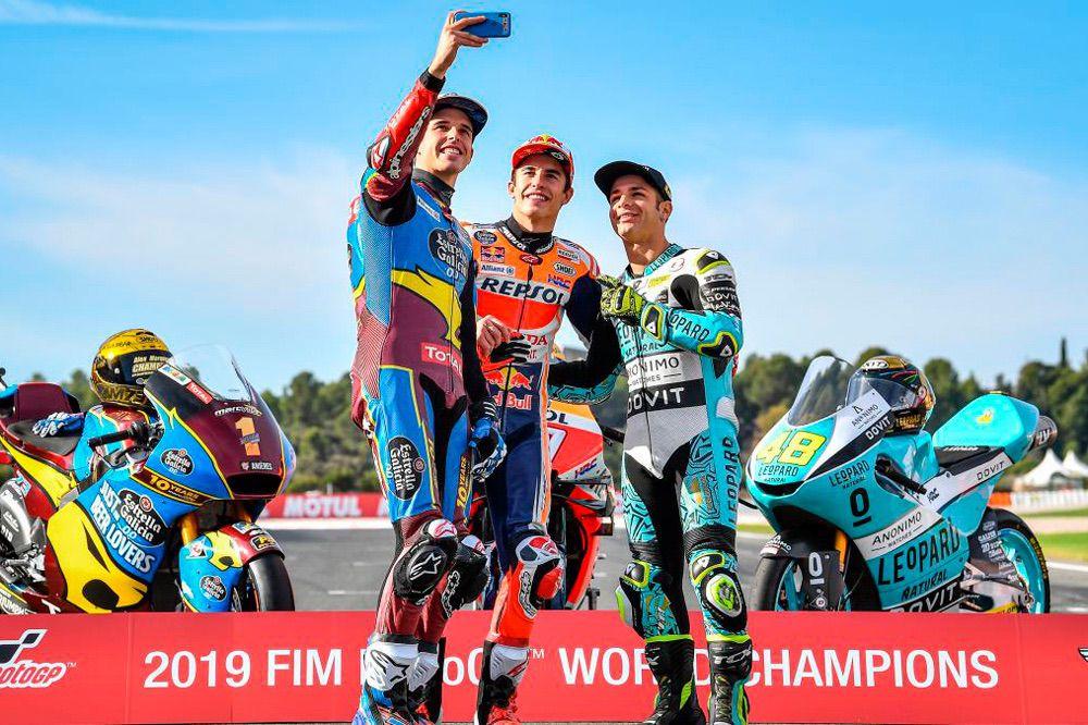 Campeones del Mundo de Motociclismo 2019