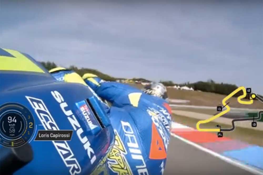Loris Capirossi con la Suzuki GSX-RR de MotoGP en Brno