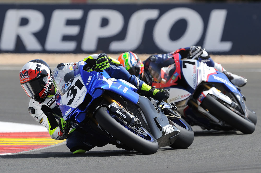 Carmelo Morales, victoria y liderato en superbike FIM CEV Repsol