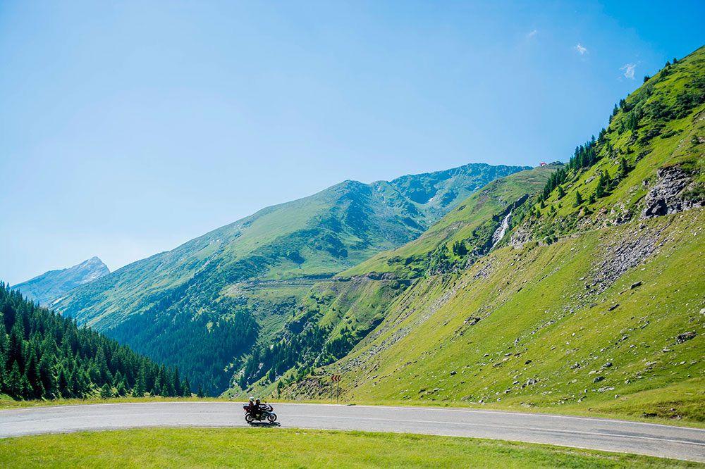 Carreteras para disfrutar en moto