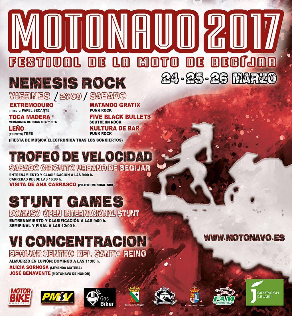 Cartel Motonavo 2017