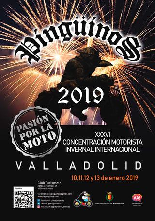 Cartel Pinguinos 2019