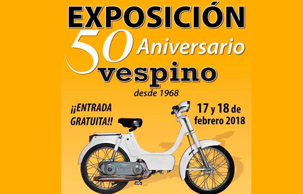 exposicion vespino 50 aniversario