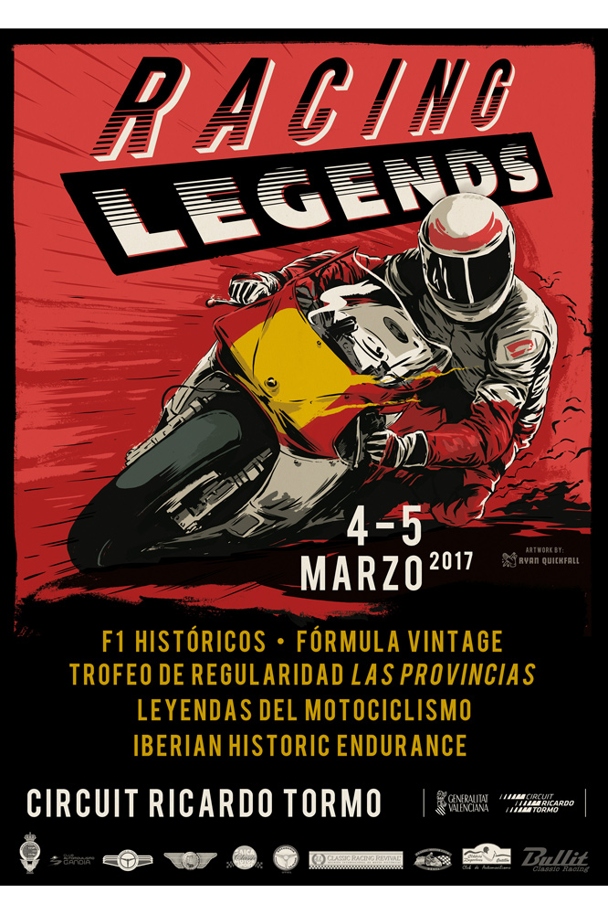 Cartel Racing Leyends 2017