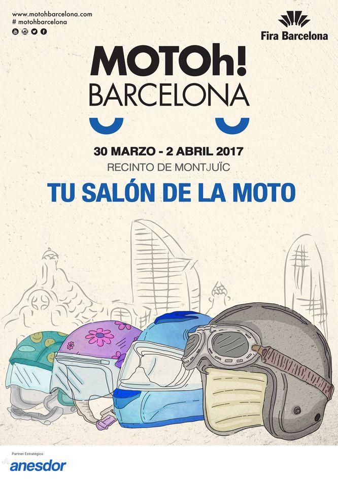Cartel Motoh Barcelona 2017