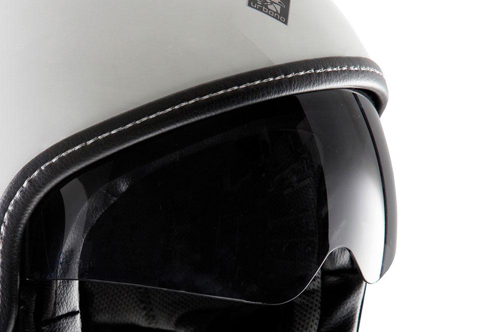 Gafas escamoteables del casco abierto para moto Tucano Urbano El Mettin