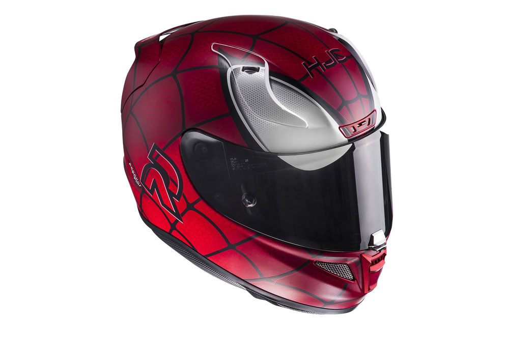 Casco de moto HJC Spiderman