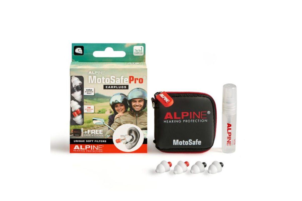 Tapones para oídos Alpine Motosafe Pro