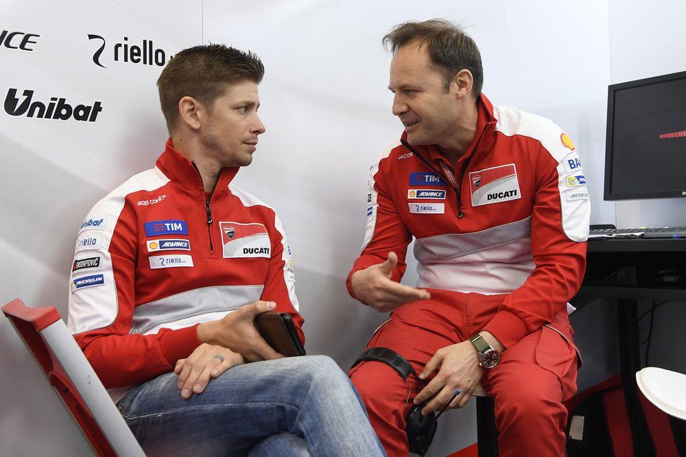 Casey Stoner durante el GP de Italia de MotoGP