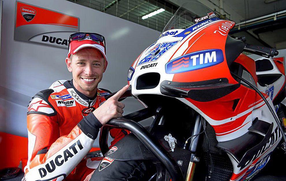 Casey Stoner Ducati MotoGP