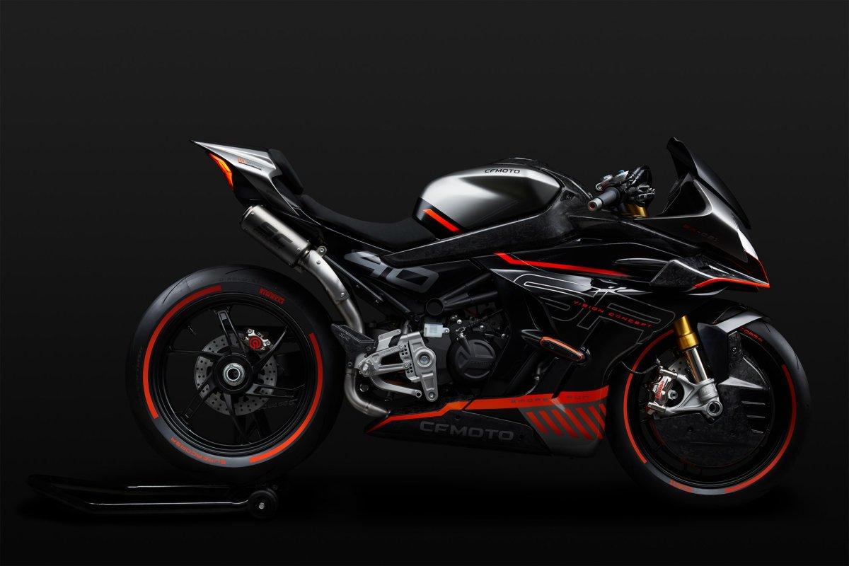 CFMoto Concept: ¿superdeportiva con motor KTM 990?