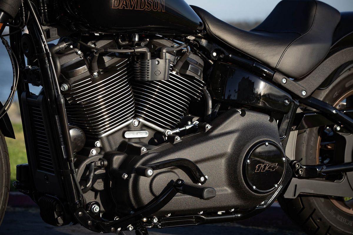 Chasis de la Harley Davidson Low Rider S