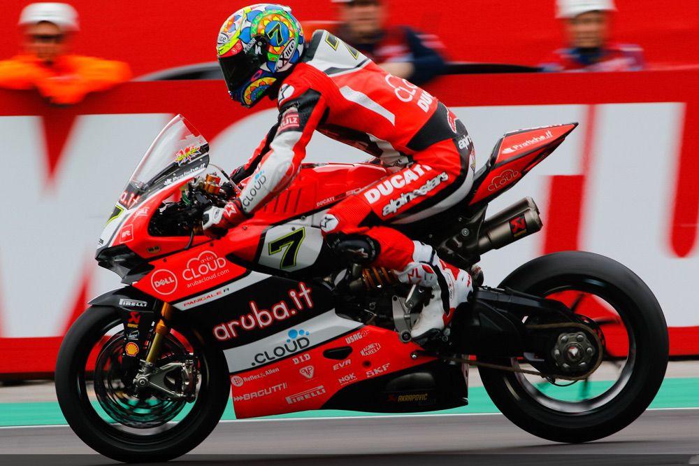 Chaz Davies, victoria en Superbike Italia
