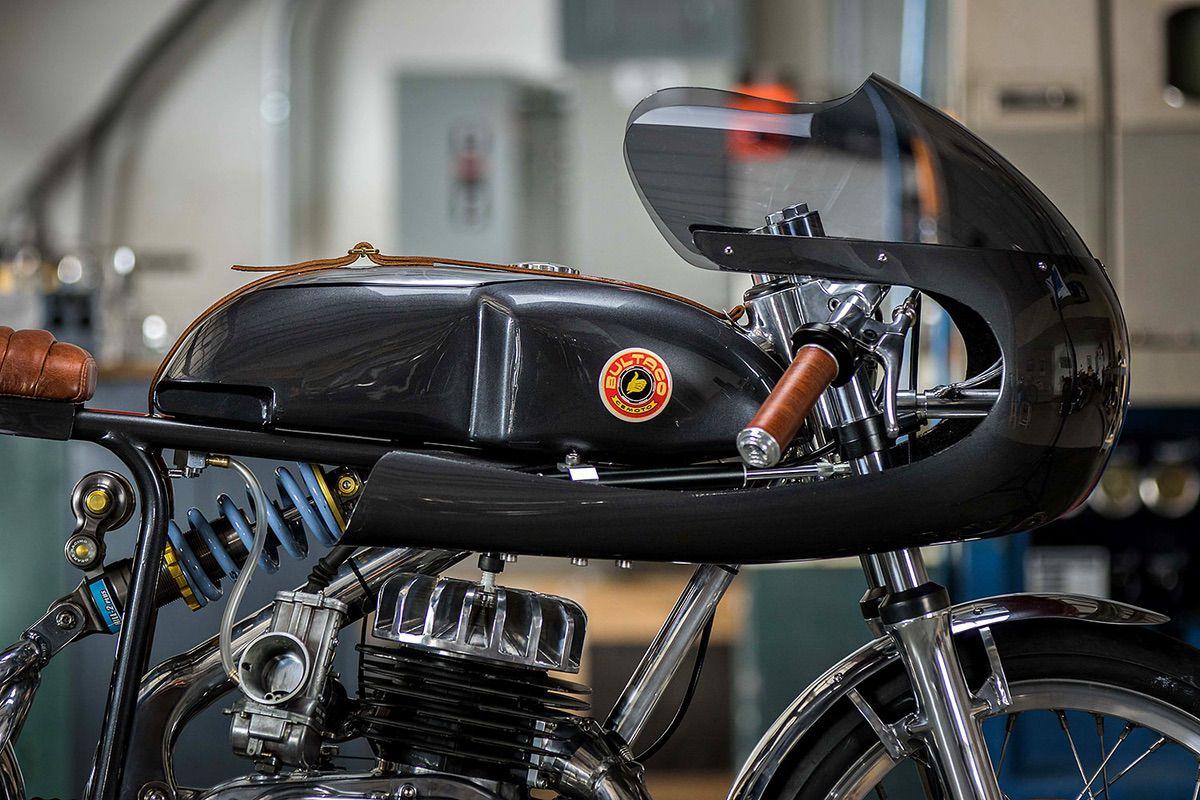 Bultaco Alpina recovertida por Speed of Cheese Racing