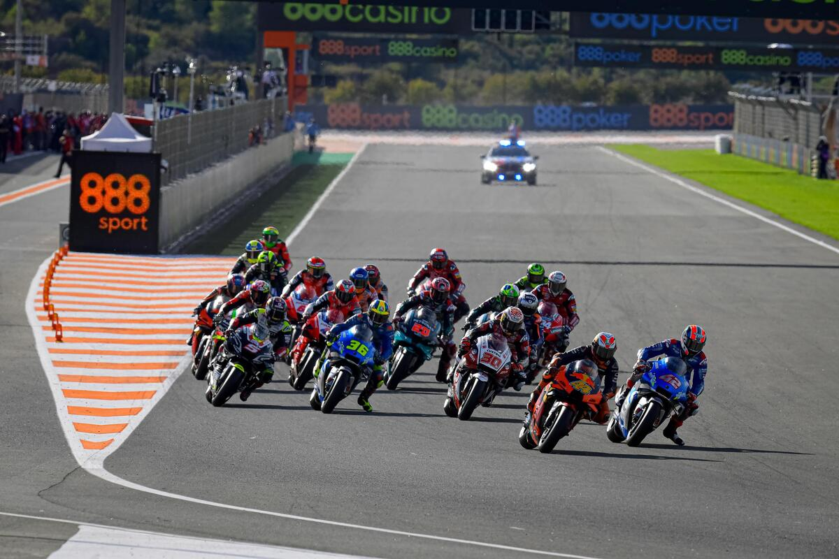Horarios para el Gran Premio Motul de la Comunitat Valenciana