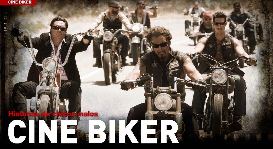 Películas con motos en el cine